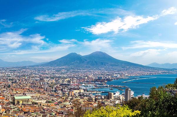 הר הגעש וזוב מפרץ נאפולי