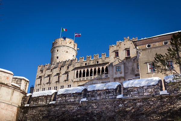 The Buonconsiglio castle of Trento, Italy, is home to the Provincial Gallery of Art.jpg