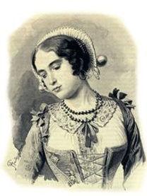 לוצ'יה, הגיבורה הראשית של הסיפור