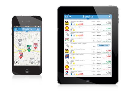 אפליקציה למחירי דלק באיטליה