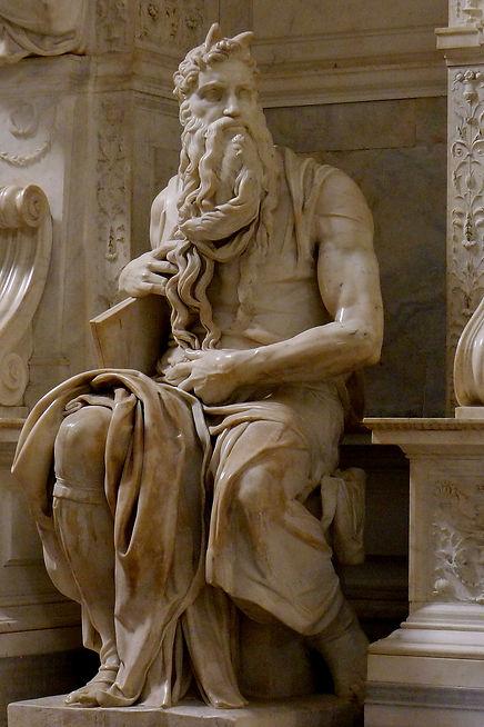 משה - פסלו של מיכאלאנג'לו