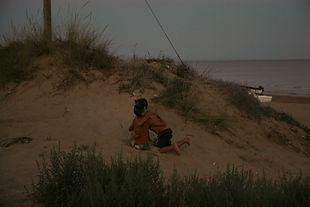 סיציליה משחקים בחוף הים
