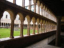 חצר ספריית קפיטולרה ורונה