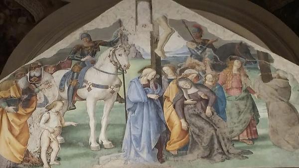 ציור קיר פרוג'ינו אסיזי אומבריה