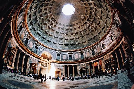כיפת הפנתאון רומא