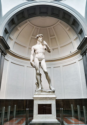 פסל דוד מוזיאון האקדמיה פירנצה