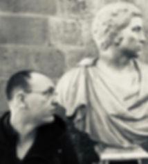 ראשו של ברוטס מיכלאנג'לו לידו הצייר יונתן הירשפלד