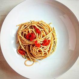 ספגטי עם צדפות שברחו מתכון