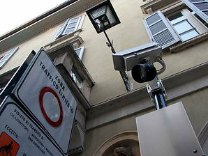 מצלמות בכניסה לערים באיטליה