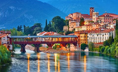 גשר האלפיניסטים בסאנו דל גראפה איטליה