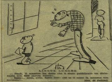 קריקטורה של פליני