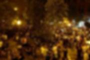 פיאצה בליני נאפולי בלילה