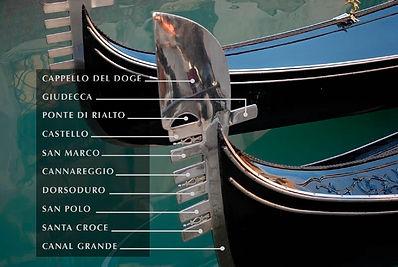 ונציה ורובעיה בגונדולה