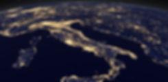 איטליה מבט מהחלל