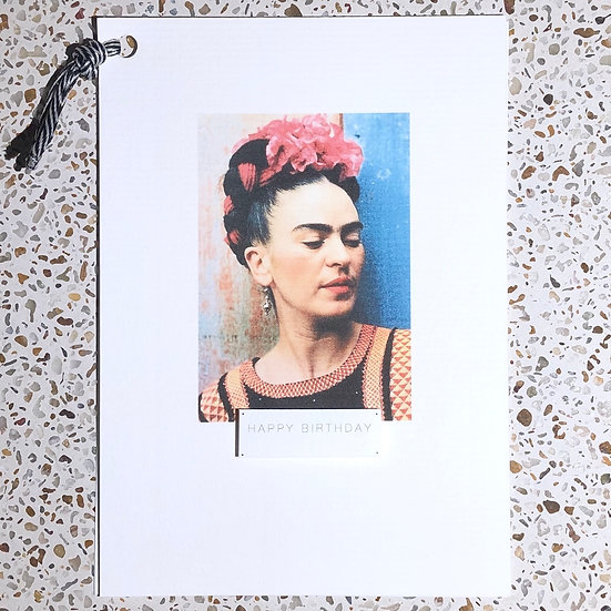 Frida Kahlo I happy birthday