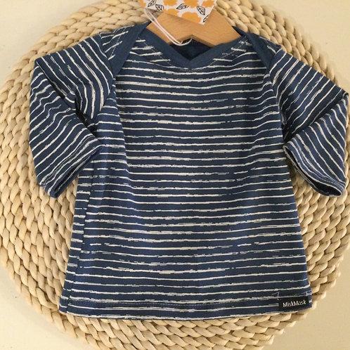 Shirt, blue stripes