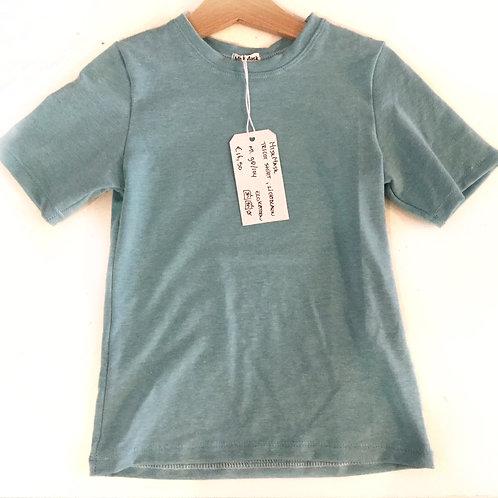 Effen lichtblauw shirt