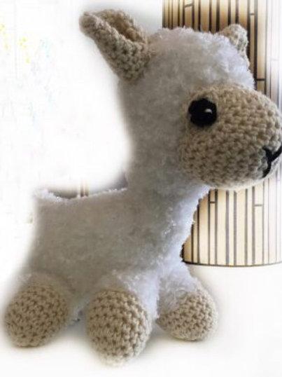 Knuffel, alpaca