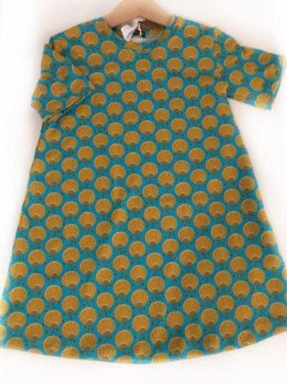 Tricot jurk, figuren