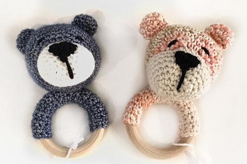 Rammelaar/bijtring, beer