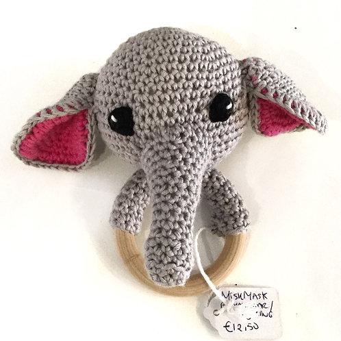 Rammelaar/bijtring, olifant