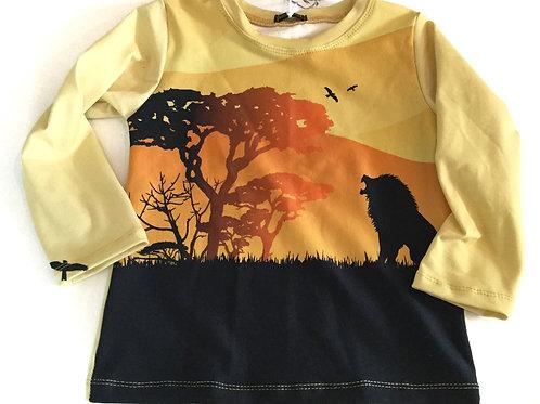 Tricot shirt, jungle