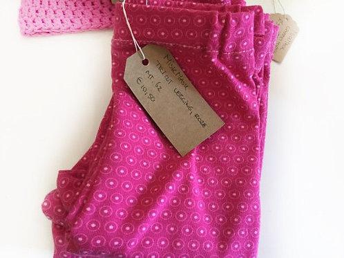 Tricot legging, roze