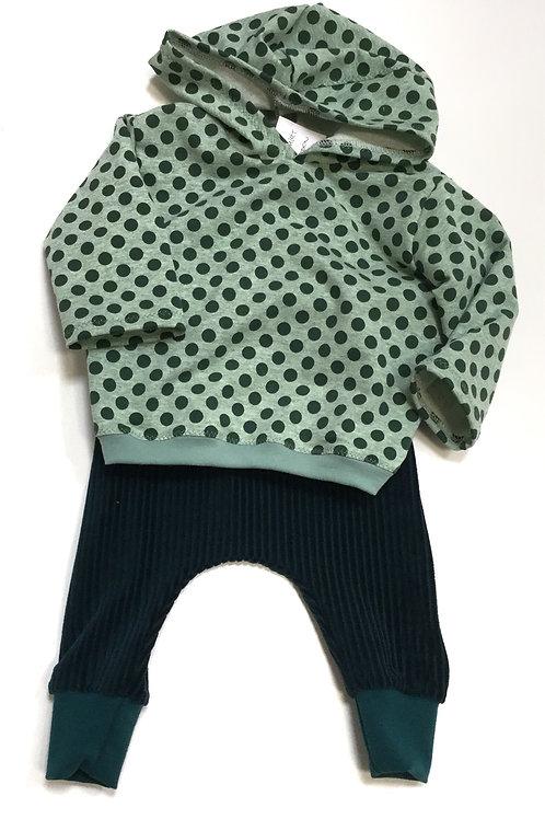 Sweatshirt, stip (met capuchon)