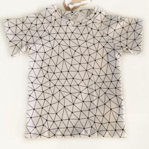 """Tricot shirt, """"driehoeken"""""""