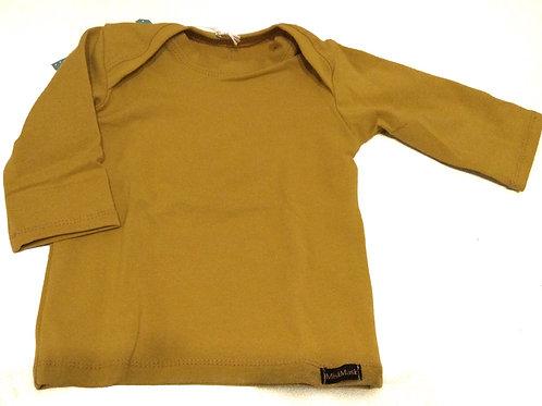 Shirt, okergeel