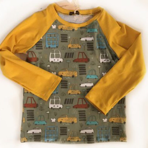 Tricot shirt, auto's