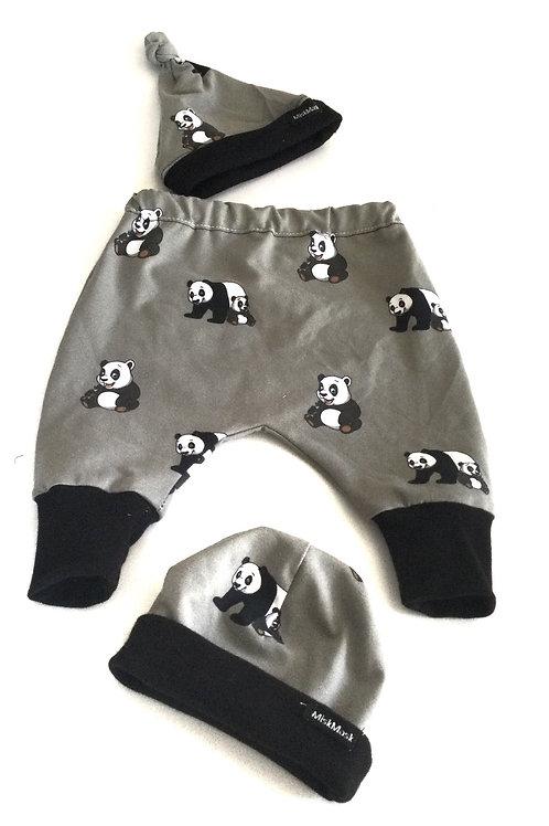 Broek, panda's