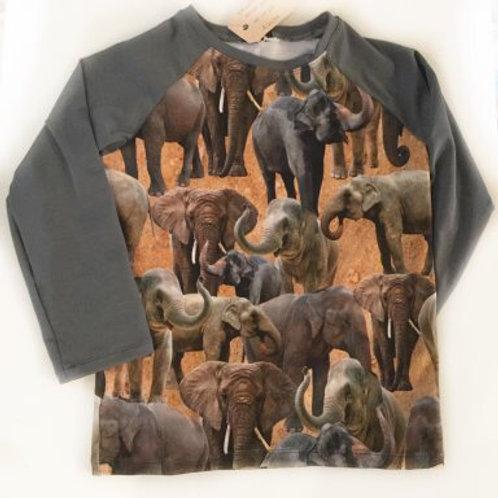 Tricot shirt, olifanten