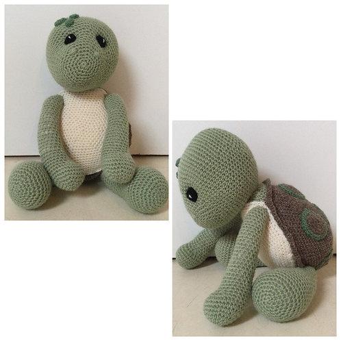 Knuffel schildpad