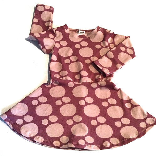 Tricot jurk, roze