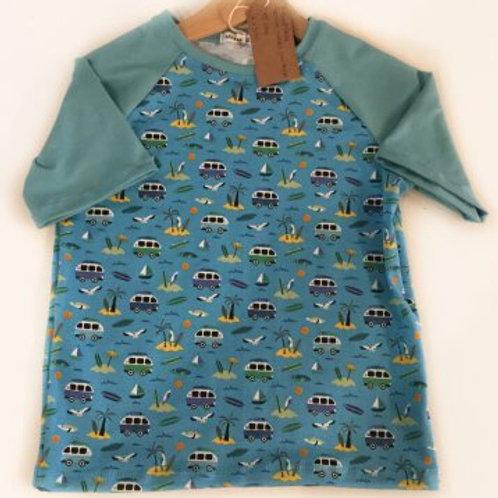 Tricot shirt, vw busjes