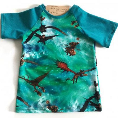 Tricot shirt, draken