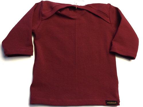Tricot shirt, cerise