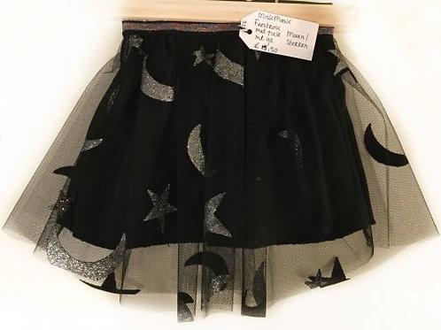 Tulen rok, zwart+maan en sterren