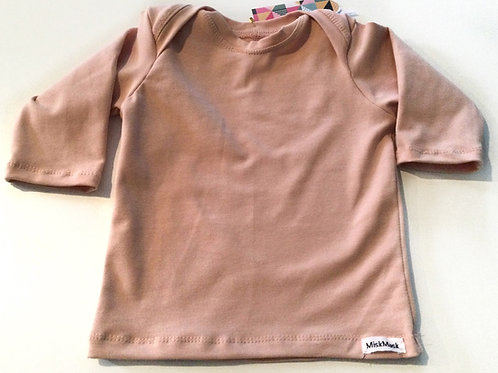 Tricot shirt, zachtroze