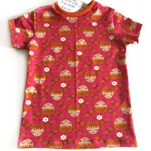 Tricot shirt, pippi langkous