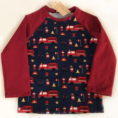 Tricot shirt, brandweer