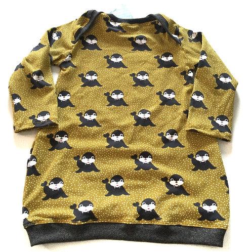 Tricot jurk, zeehond