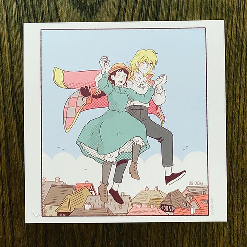 How's Moving Castle - ハウルの動く城