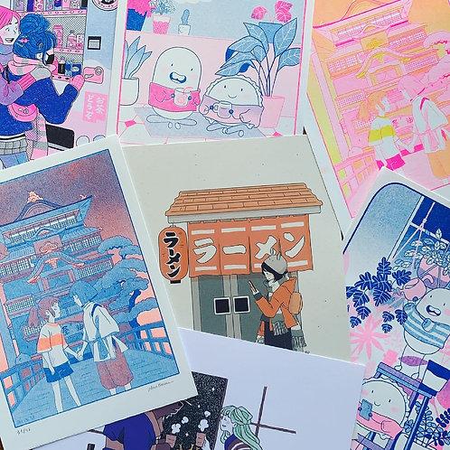Patreon prints & risographs