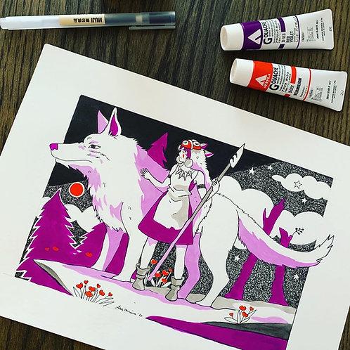 Lady Wolf - もののけ姫