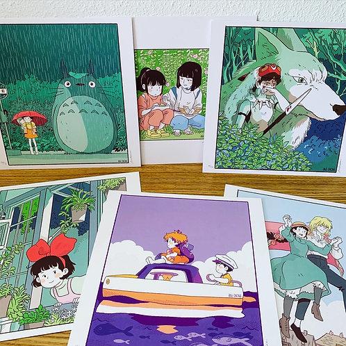 Studio Ghibli  - スタジオジブリ Pack