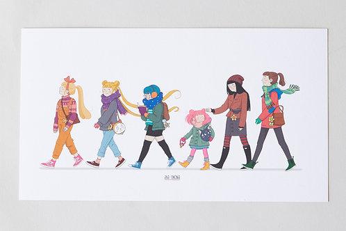 Print Sailors