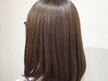 毛髪修復ストレート