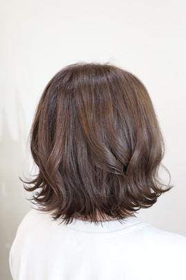 毛髪復元外ハネボブ